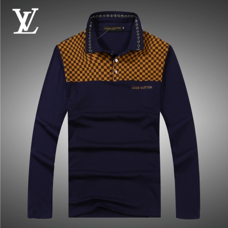 $24.0, Louis Vuitton long sleeved shirts for men #292250