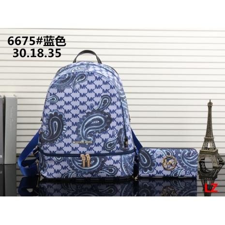 $33.0, michael kors Backpack 2pcs Set #293077