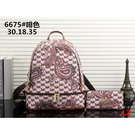 $33.0, michael kors Backpack 2pcs Set #293078