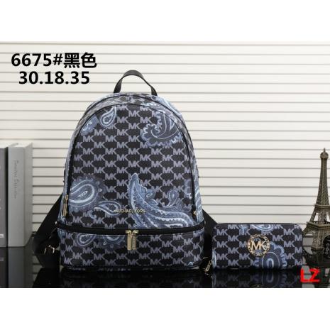 $33.0, michael kors Backpack 2pcs Set #293079
