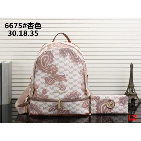 $33.0, michael kors Backpack 2pcs Set #293080