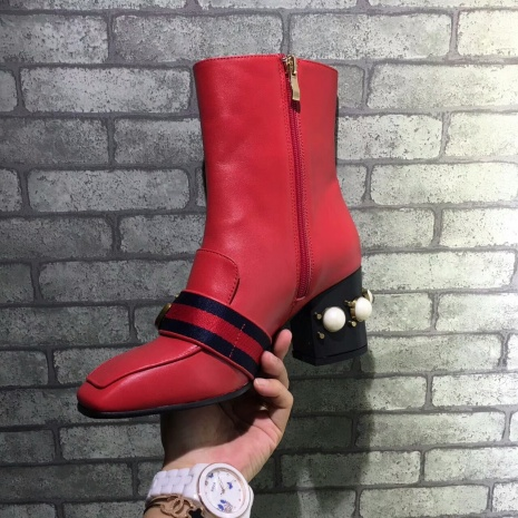 $97.0, Gucci 7cm heel boots for women #293581