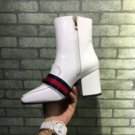 $89.0, Gucci 7cm heel boots for women #293582