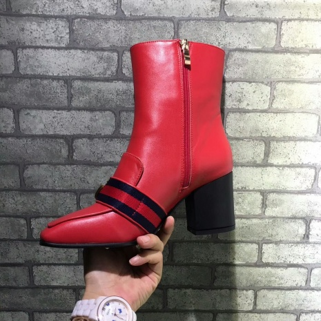 $89.0, Gucci 7cm heel boots for women #293583