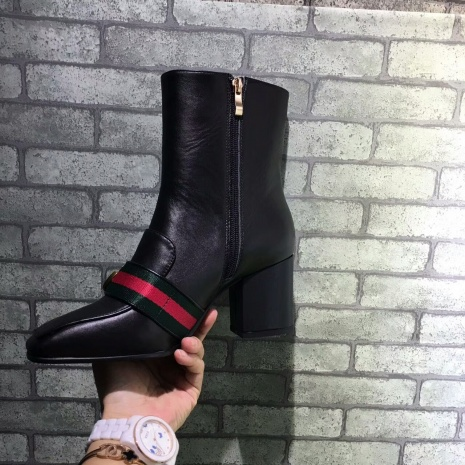 $89.0, Gucci 7cm heel boots for women #293584