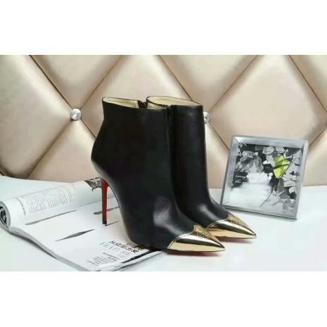 $85.0, Christian Louboutin 10cm heel boots for women #294277