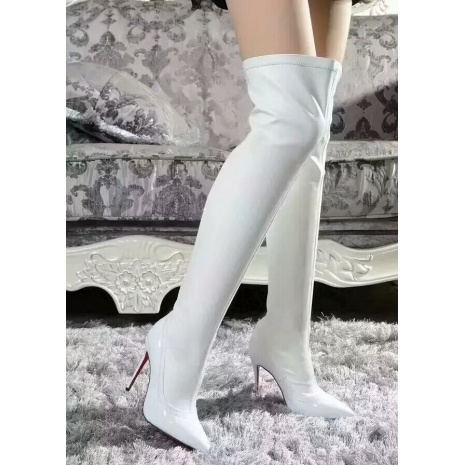 $85.0, Christian Louboutin 10cm heel boots for women #294290